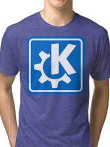 KDE logo Tri-blend T-Shirt