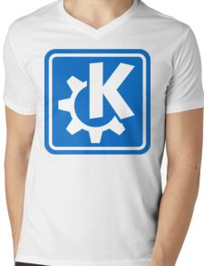 KDE logo Mens V-Neck T-Shirt