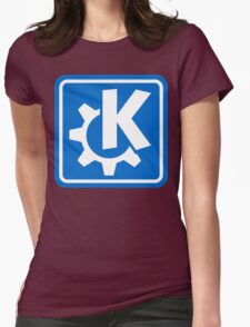 KDE logo Womens Fitted T-Shirt