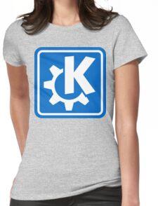 KDE logo Womens Fitted T-Shirt