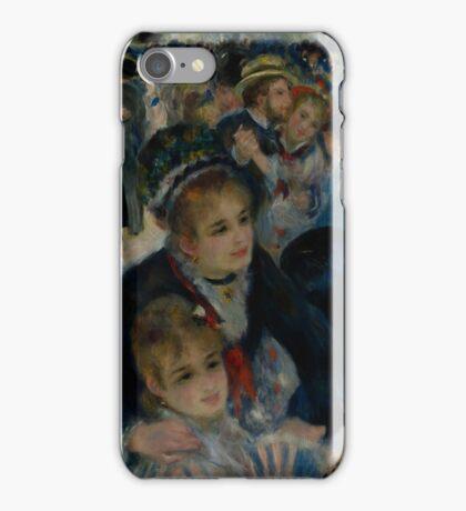 Auguste Renoir - Dance at Le Moulin de la Galette 1876 iPhone Case/Skin
