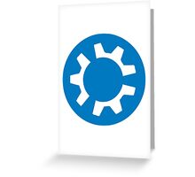 kubuntu logo Greeting Card