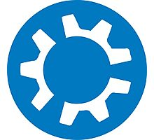 kubuntu logo Photographic Print