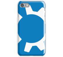 kubuntu logo iPhone Case/Skin
