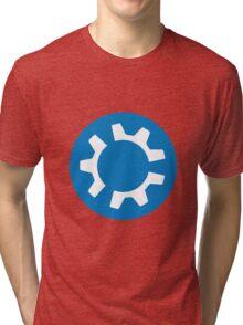 kubuntu logo Tri-blend T-Shirt