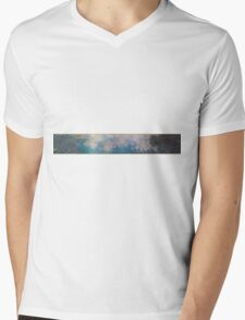 Claude Monet - The Water Lilies - The Clouds (1915 - 1926)  Impressionism Mens V-Neck T-Shirt