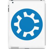 kubuntu logo iPad Case/Skin