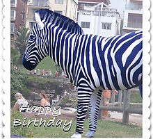 Happy Birthday Zebra by KazM