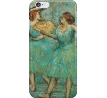 Edgar Degas - Two Dancers,  1905  Impressionism  ballerina dancer iPhone Case/Skin