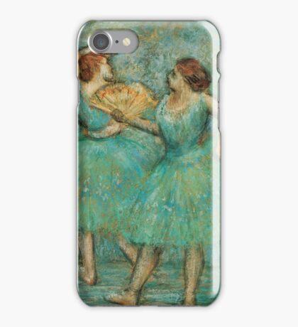 Edgar Degas - Two Dancers,  1905  Impressionism  ballerina dancer iPhone Case/Skin