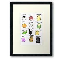 Hamsters, Hamsters Everywhere Framed Print