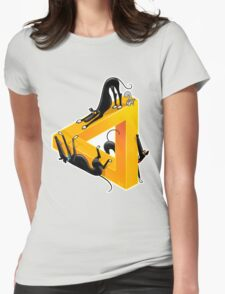Greyllusion Womens Fitted T-Shirt