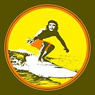 Surfer Che by monsterplanet