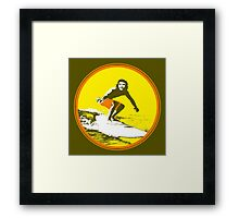 Surfer Che Framed Print
