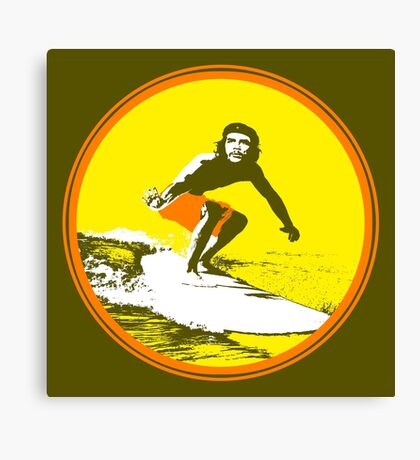 Surfer Che Canvas Print