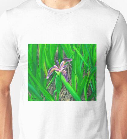 Purple Iris - Harris Unisex T-Shirt