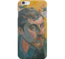 Paul Gauguin - Self-portrait with portrait of Bernard, Les Miserables 1888 iPhone Case/Skin