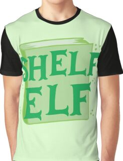 SHELF ELF with books (librarian book putting away assistant) Graphic T-Shirt