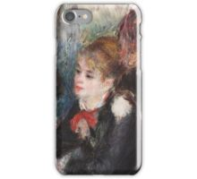 Auguste Renoir - At the Milliner's 1878  Woman Portait iPhone Case/Skin