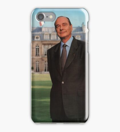 ELYSÉE (Chirac) iPhone Case/Skin