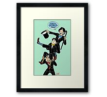 Broadway Batboys~ Framed Print