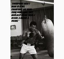 Mohamed Ali champion quote Unisex T-Shirt