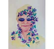 Purple Shades... Photographic Print