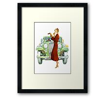 Touch Up... Framed Print