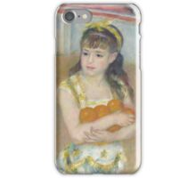 Auguste Renoir - Acrobats at the Cirque Fernando Francisca and Angelina Wartenberg 1879 iPhone Case/Skin