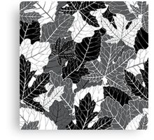 Book of leaves Canvas Print