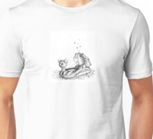 sardine in inflatable boat Unisex T-Shirt
