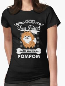 Pomeranian Lover shirt Womens Fitted T-Shirt