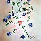 Rambling Rose Blues by Robin Monroe