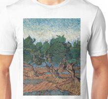 1889-Vincent van Gogh-Olive grove-72,7x92,1 Unisex T-Shirt