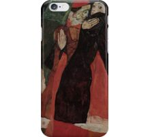 Egon Schiele - Cardinal and Nun Caress 1912  Egon Schiele  Kiss  iPhone Case/Skin