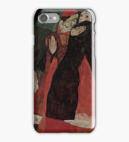 Egon Schiele - Cardinal and Nun Caress 1912  Egon Schiele  Kiss  iPhone Case/Skin
