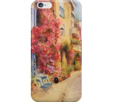 Grimaud village - Provence - France iPhone Case/Skin