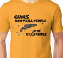 Space Guns don't kill People Unisex T-Shirt