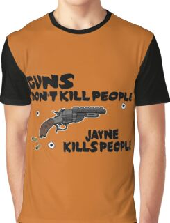 Space Guns don't kill People Graphic T-Shirt