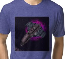Space, wormholed Tri-blend T-Shirt