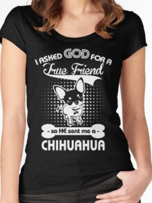 CHihuahua Lover shirt Women's Fitted Scoop T-Shirt