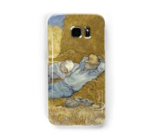 Vincent Van Gogh  Post - Impressionism Oil Painting .The siesta, after Millet, 1890 Samsung Galaxy Case/Skin