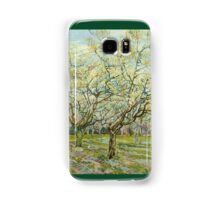 Vincent Van Gogh Post- Impressionism Oil Painting The white orchard, April 1888 - 1888 Samsung Galaxy Case/Skin