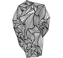 """Paradox"" Zentangle Doodle Print Photographic Print"
