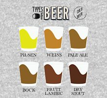 Types of Beer Unisex T-Shirt