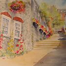 Bottom of Church Hill - Hythe Kent by Beatrice Cloake