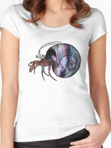 Hermit Crab Women's Fitted Scoop T-Shirt