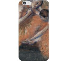 Edgar Degas - Two Dancers ( 1898) Impressionism  ballerina dancer iPhone Case/Skin