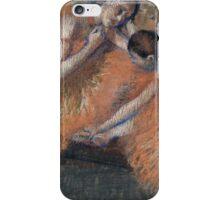 Edgar Degas - Two Dancers ( 1898) Impressionism  ballerina dancer iPhone Case/Skin