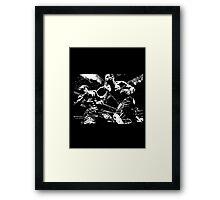 I' m a Fighter.. Framed Print